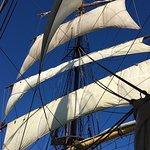 Majestic under sail off Sydney Australia