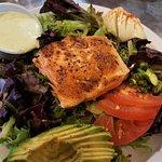 Salmon salad (already sampled!)