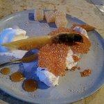 Pinepple coconut cream dessert