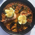Seafood Paella - for two