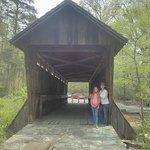 Foto van Pisgah Covered Bridge