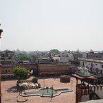 View from the top of the market