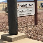 Flying Leap sign