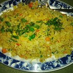 Vegetable Fried Rice - Pakistani Style