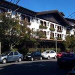 Foto do hotel que pcupa todo o quarteirão