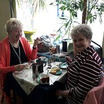 More of our great home cooked food and customers enjoying it!!!