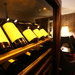 Good wine selection, also cellar wines