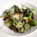 Kale and organic egg