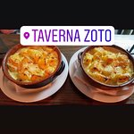 the potatoes in the pot with panna and cheese