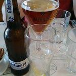 Bière Affligem et Edelweiss, servies très fraîches