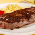 Nuestro plato estrella, el entrecot de potro Hispano Bretón. Tan delicioso com saludable.