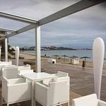Chillout mit Blick zu Ibiza Stadt