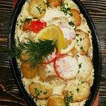 Треска с картофельным гарниром