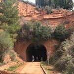 La Via verda te sorprende gratamente con sus túneles y la antigua via del tren
