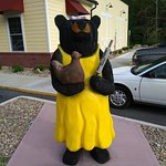 bear out front