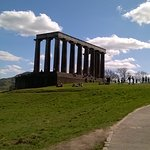 The National Monument on Calton Hill.