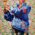 St. Dionysus (2006) by Kehinde Wiley, Milwaukee Art Museum
