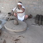 Century old pottery making technique