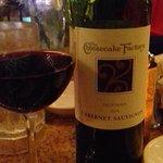 Cheescake factory own brand wine