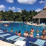 Pool and bar area Paradise beach