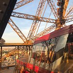 View out of 58 Tour Eiffel