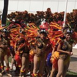 Carnival parade Cozumel (outside Senor Frogs)