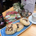 Homemade Eccles Cakes, perfect with afternoon tea!