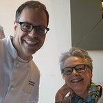 Chef Doug Katz and my wife