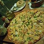 Thin Crust Veg Pizza