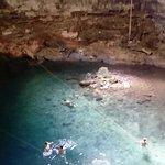 Aventura en cenote samula