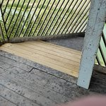 Repaired tower floor mentioned by other travelers