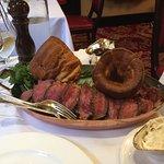 Sunday rare beef to share