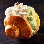 Brioches siciliana con gelato