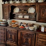 Breakfast Buffet Table