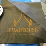 Thai House napkin.