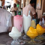 Sorbets and other treats
