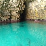 The sea was at leasyt 5 metres deep here and so clear