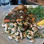 Fish and Chips Vagninn Foto