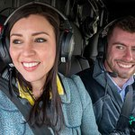 Fun times by all on a Chicago helicopter tour
