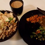 Thai Bowl + Spinach Lasagne
