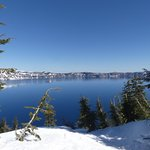 Crater Lake mid-April 2018