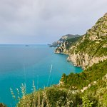 First view of the beautiful Amalfi Coast