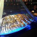 river prawns & blue crabs