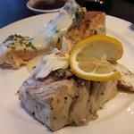 lovely sea bass & salmon