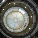 Domed ceiling in reception area