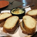 Bread with yummy flavoured butter