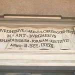 My favorite Beninni works and the entrance inscription