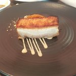 Grilled barramundi, roast pork and desserts