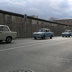 The wall of Berlin...