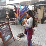 Cidade Velha: cafés